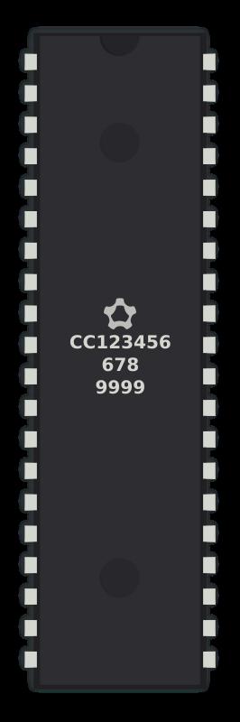Free Generic 40-pins IC