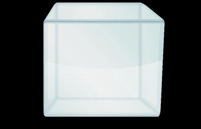 Free transparent cube