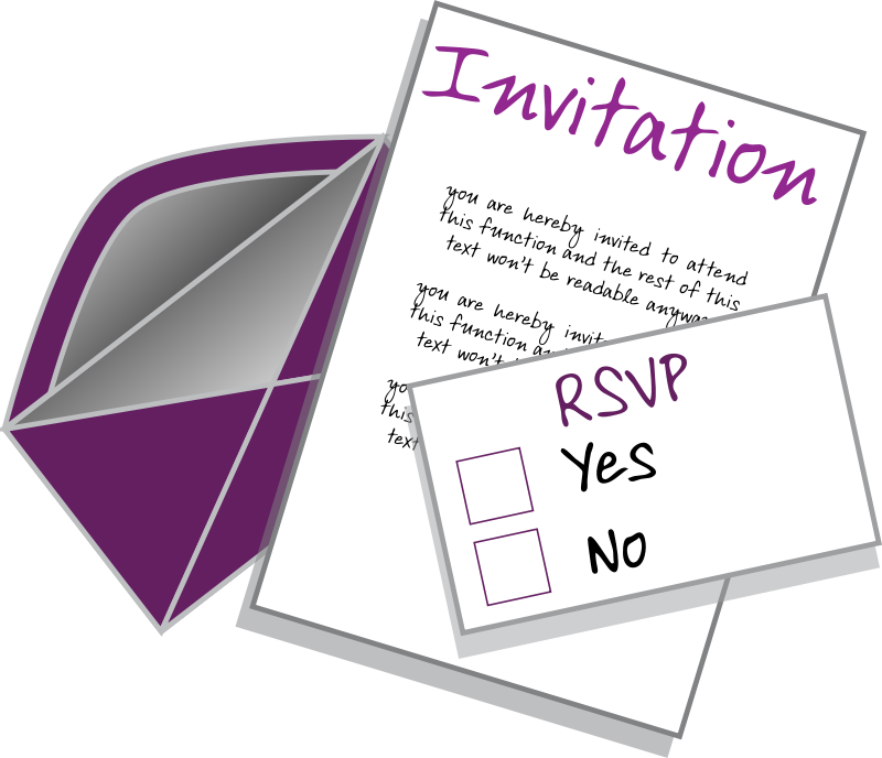 free clipart invitation neocreo