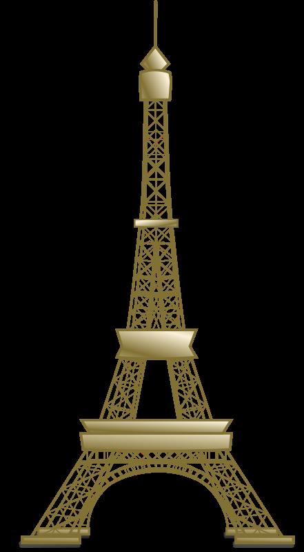 Free Clipart: Eiffel Tower | Buildings | BenBois
