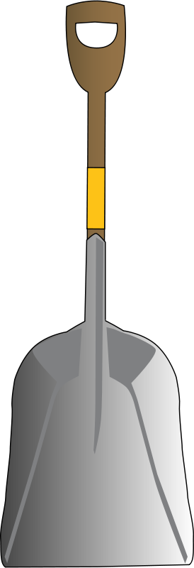 Free scoop shovel