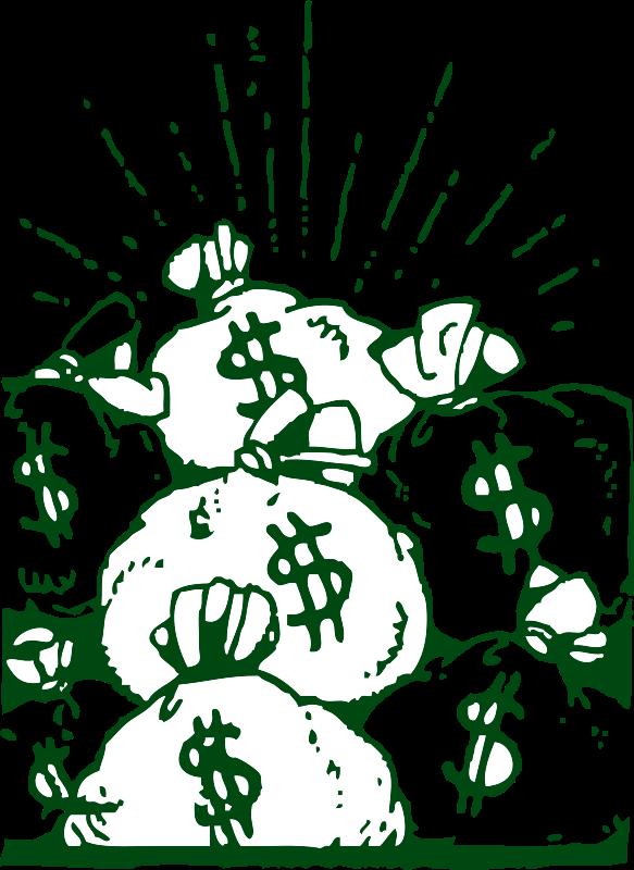 Free money bags