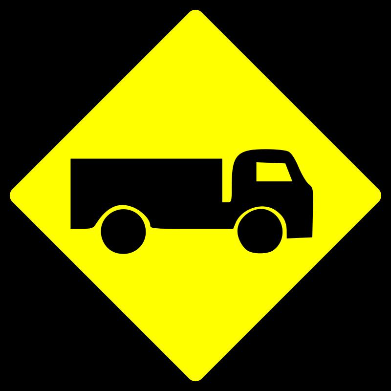 Free caution_truck