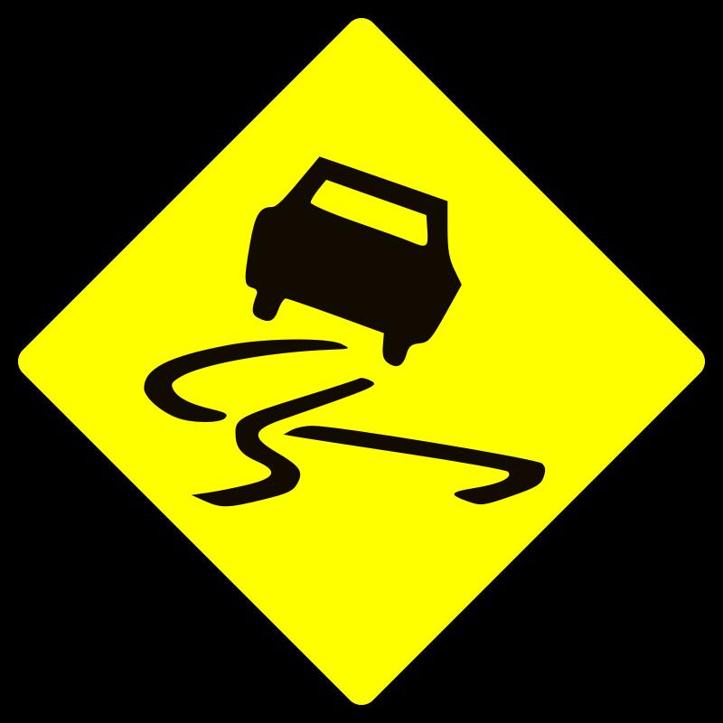 Free Slippery when wet