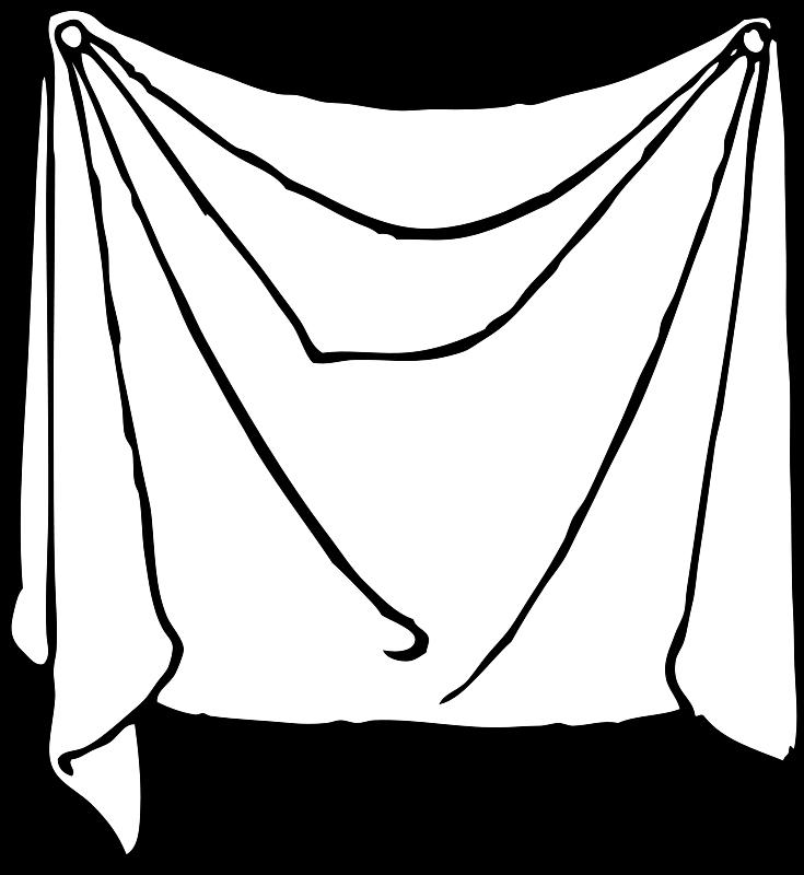 Free draped sheet
