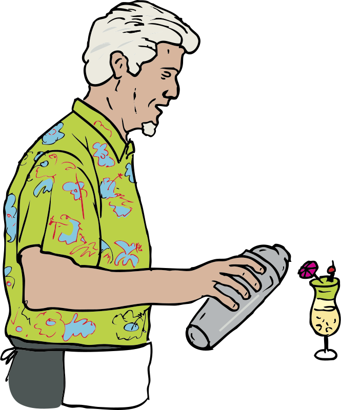 Free Tiki Bartender; Martin Duus