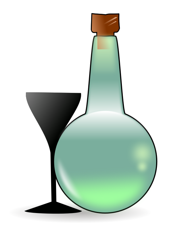 Free Bottle of absinth