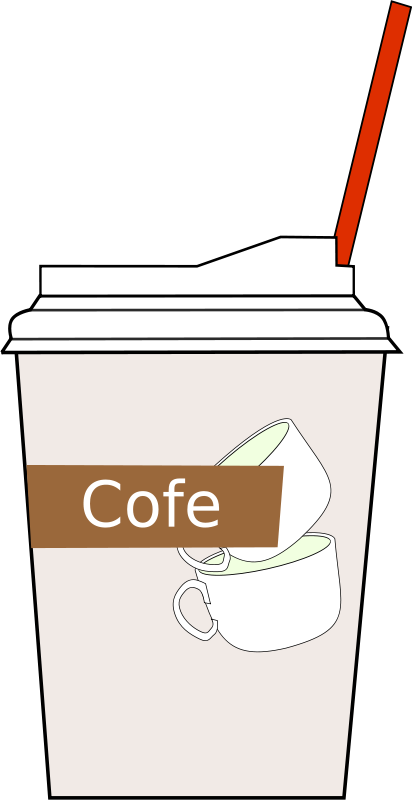 Free Clipart: Coffee cup | antontw