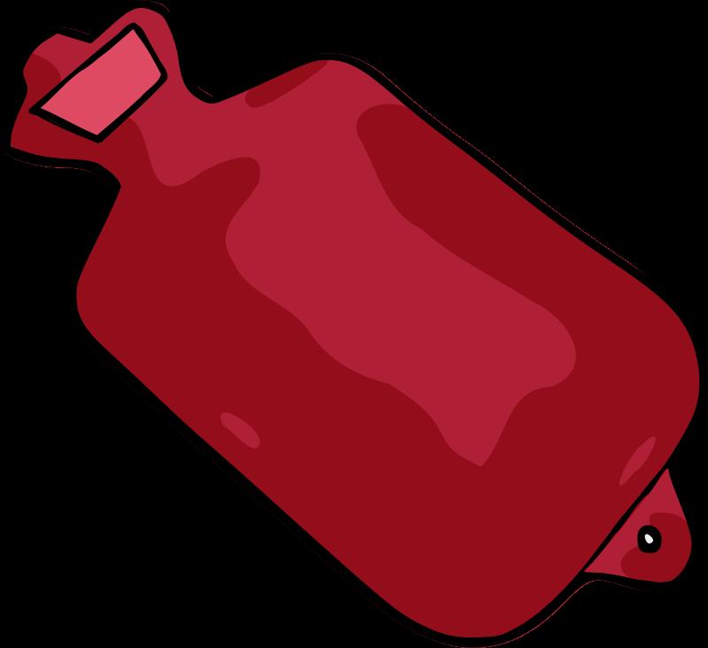 Free hot water bottle