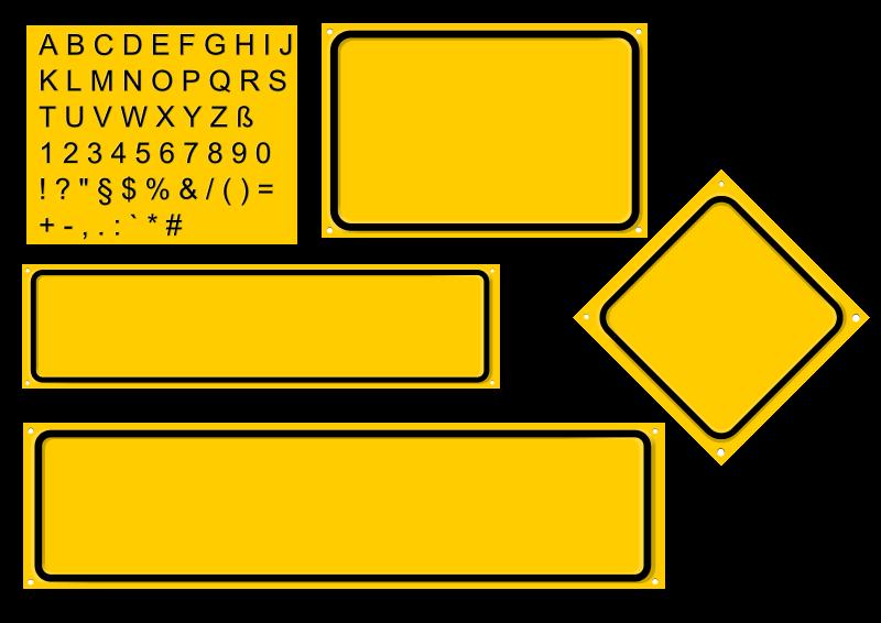 Free Sign builder set