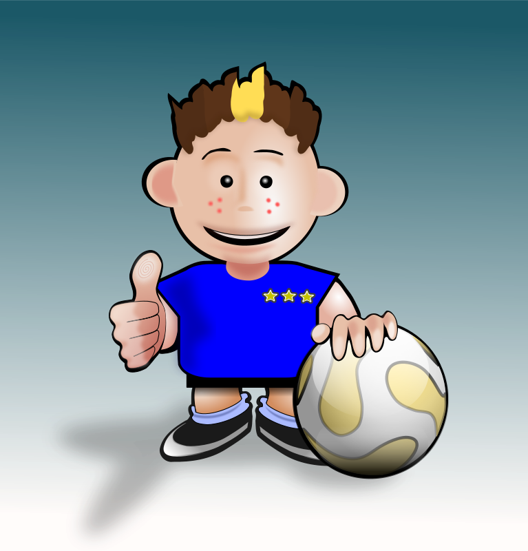 Free Soccer toon