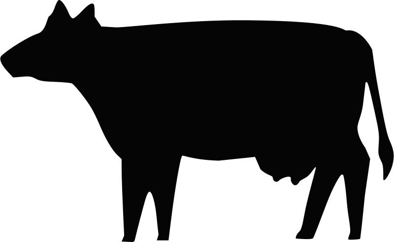 Free Cow Silhouette