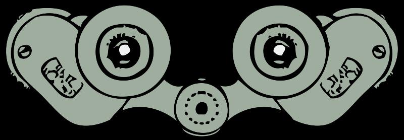 Free binoculars rear view