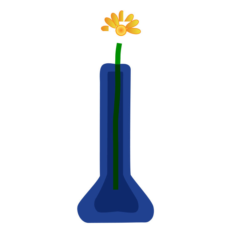 Free Flower in Vase