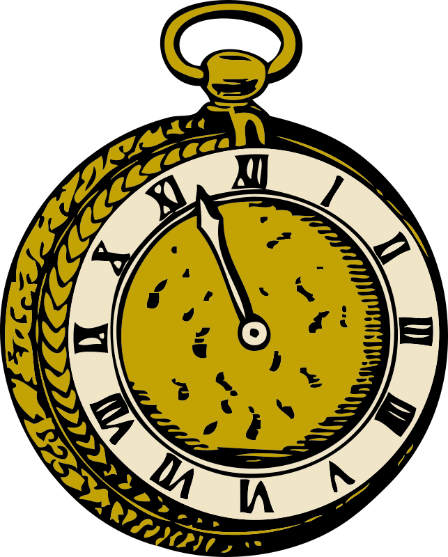 Free Clipart: Old pocketwatch | johnny_automatic