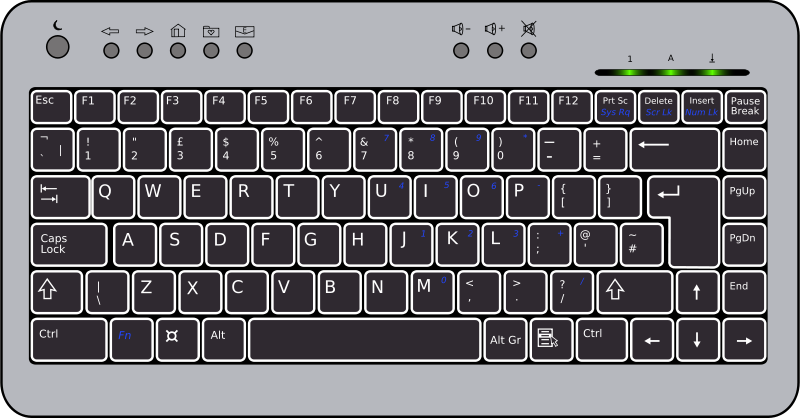 Free BTC6100C UK Compact Keyboard