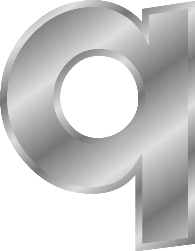 Free Clipart: Effect Letters alphabet silver | Chrisdesign