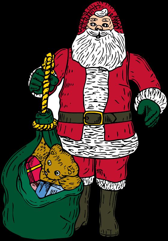 Free Santa and bag