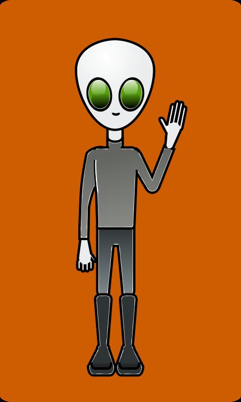 Free Alien Dude