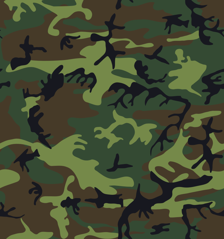 Free Camouflage / Army Print