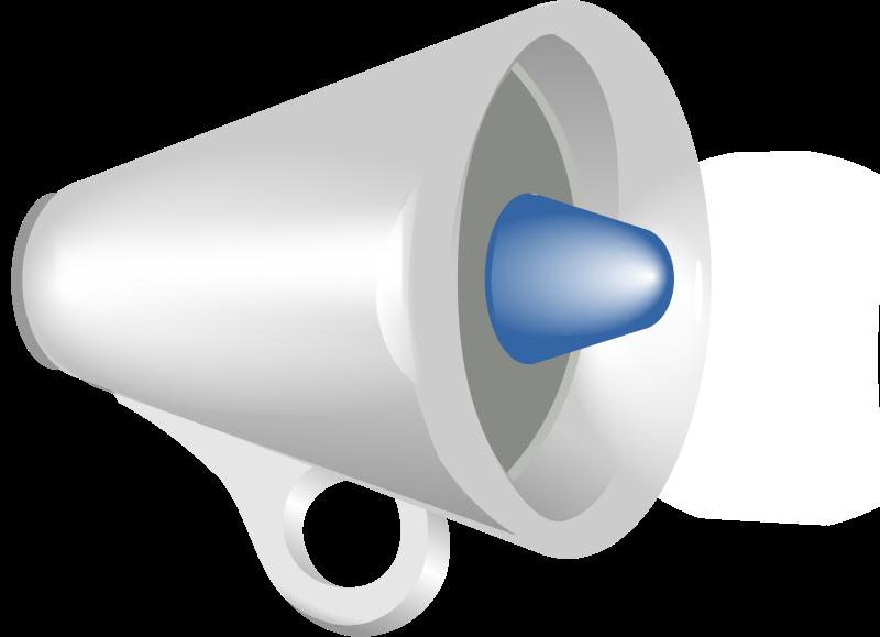 Free megaphone