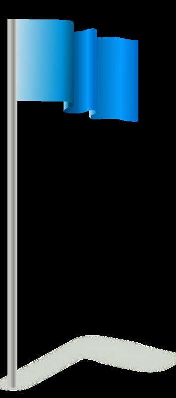 Free flagpole