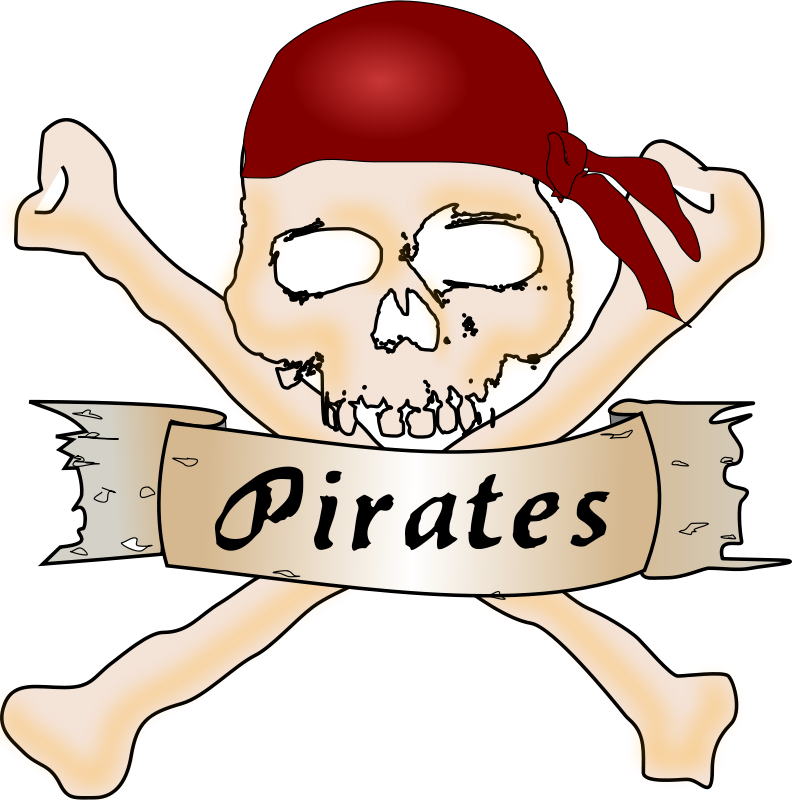 Free Clipart: Pirate skull | Chrisdesign