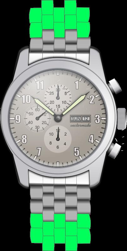 Free wristwatch #1 - chronometer