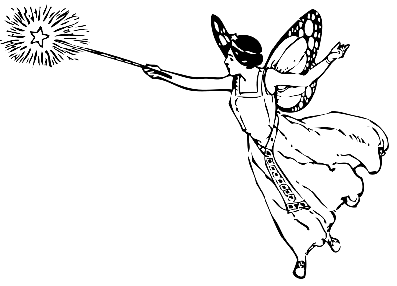 Free Fairy With Wand