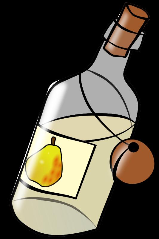 Free Bottle with moonshine