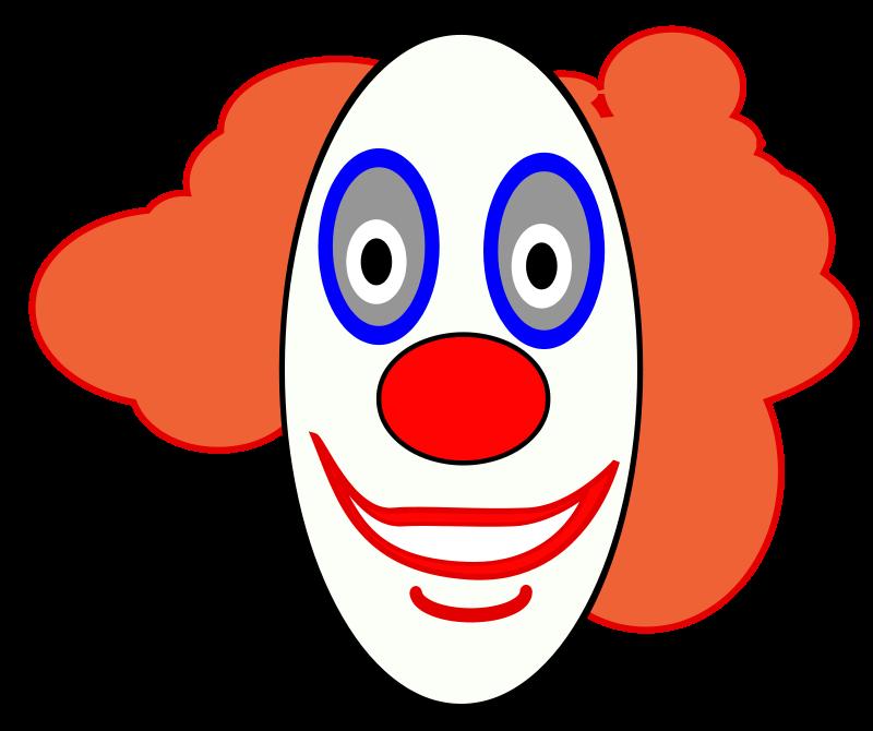 Free Creepy Clown Face