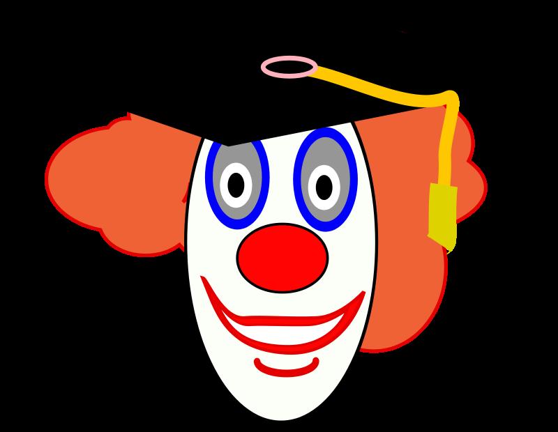 Free Clown School Graduate