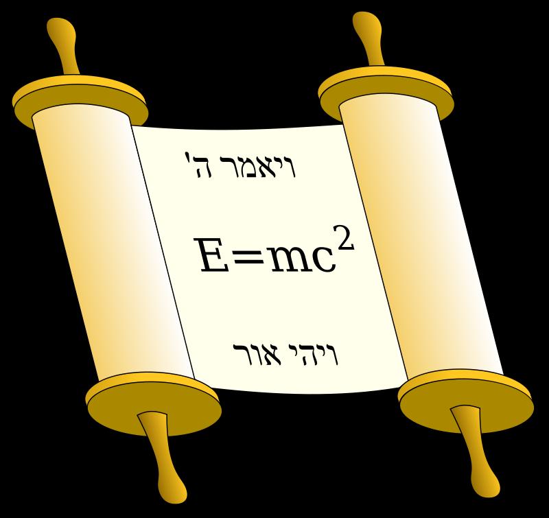 Free Tora Scroll with Einstein equation