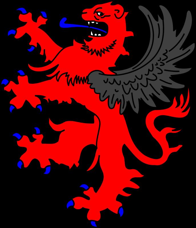 Free winged lion