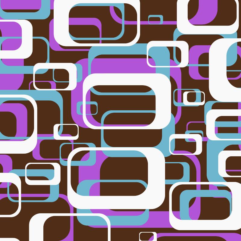 Free Retro shapes pattern