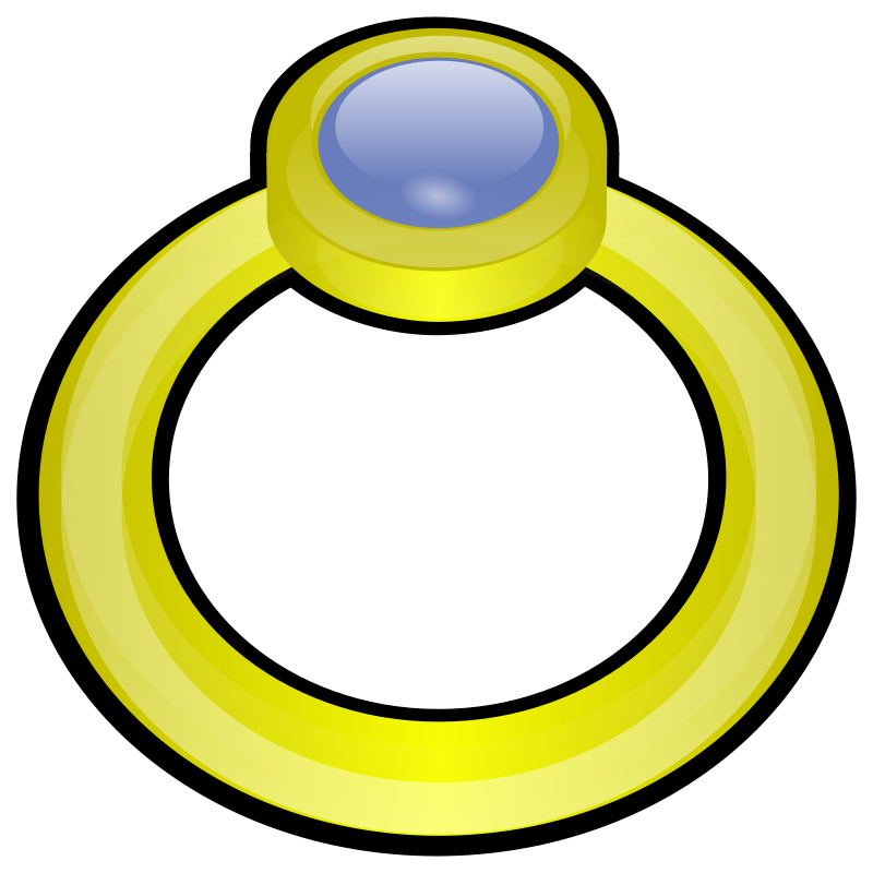 Free Clipart: Ring | PeterM