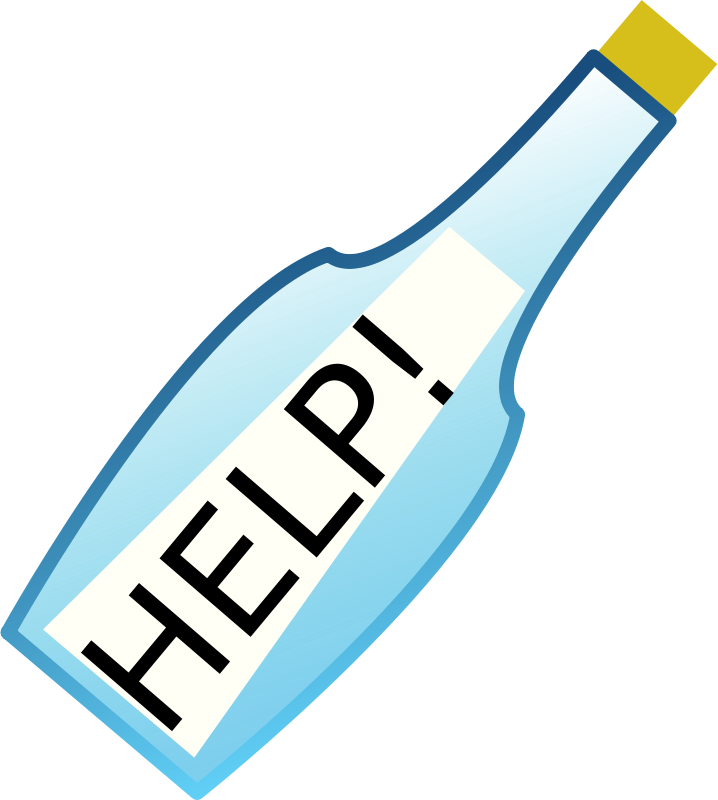 Free message in a bottle