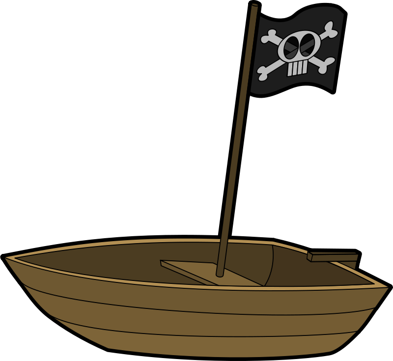 Free Pirates boat