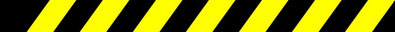 Free Warning Stripe Black/Yellow