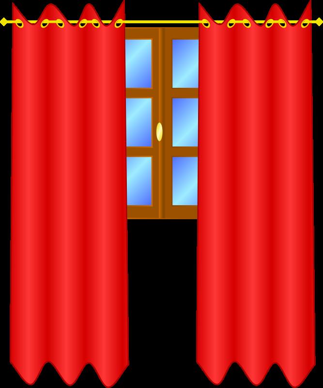 Free Window with draperies