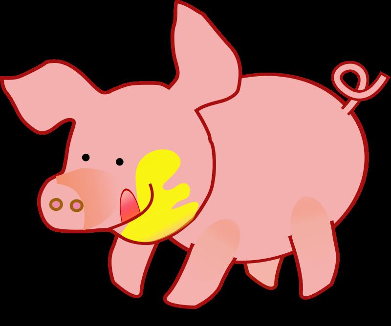 Free Happy Pig