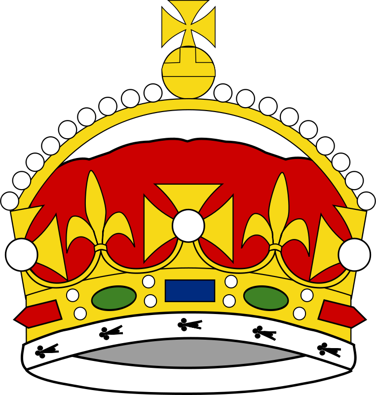 Free Crown of George Prince of Wales