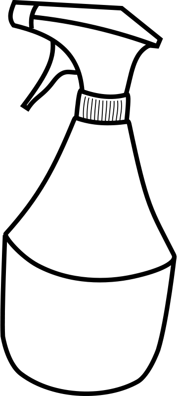 Free Clipart: Squirt bottle | SRD