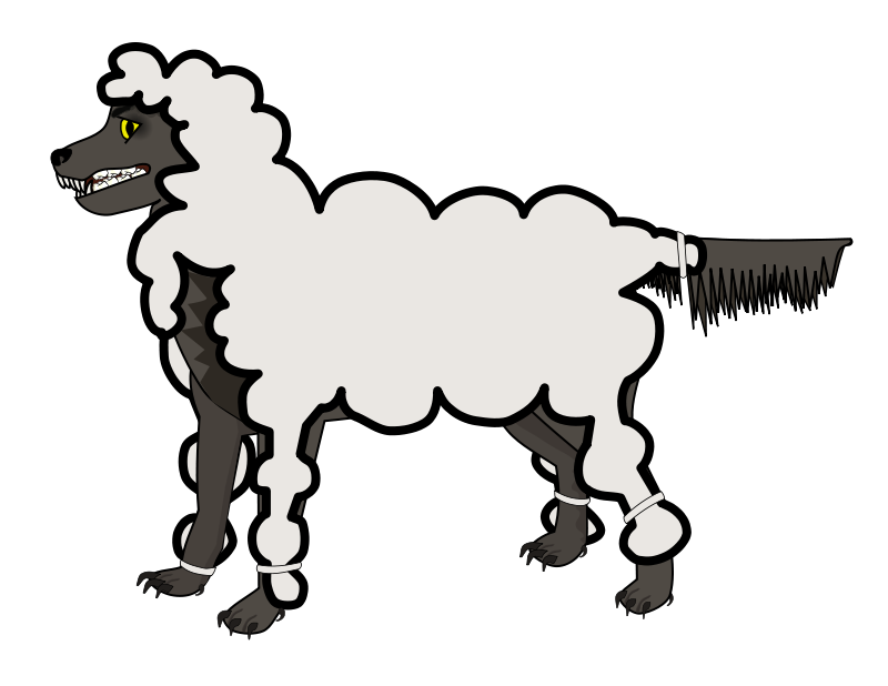 Free Wolf in Sheep's Clothing