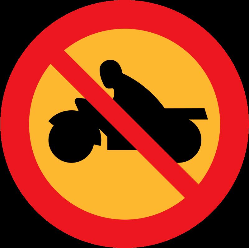 Free no motorbikes