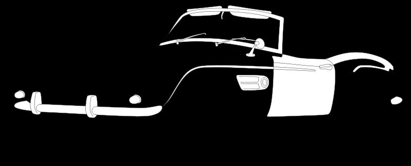 Free BMW 507 Outline