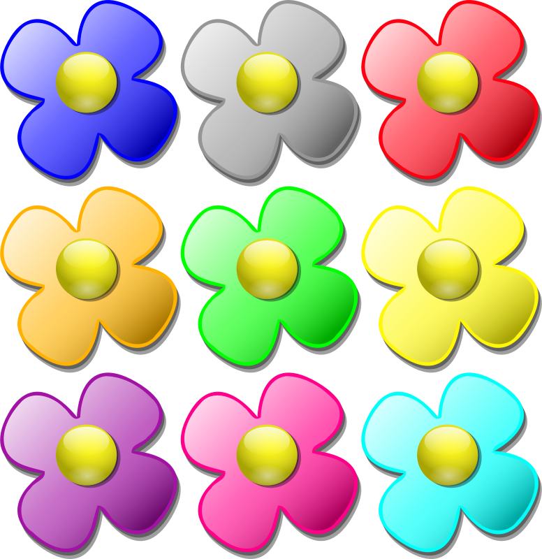 Free Game marbles - flowers