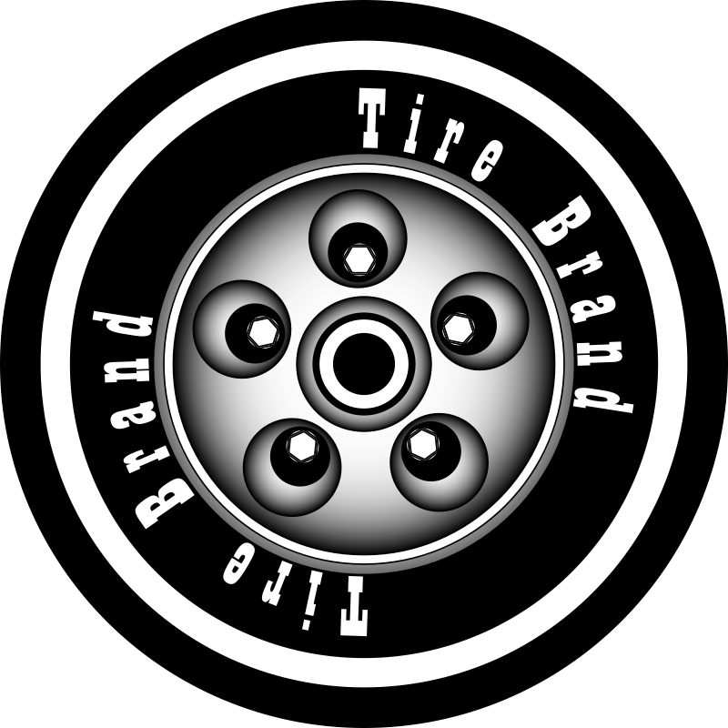Free Clipart: Tire with rim. | azieser