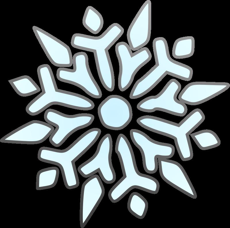 Free Single Snowflake