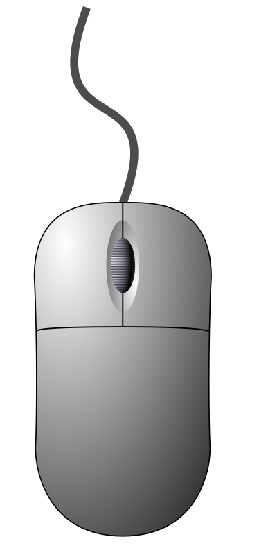 Free Computer mouse (top-down view)